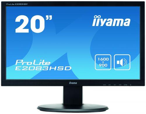 19.5in LED HD Monitor Speakers VGA DVID