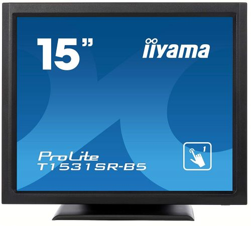 15in Touch LED Monitor Speakers VGA HDMI