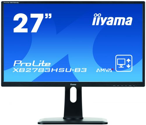 27in Monitor Full HD Height Adjustable