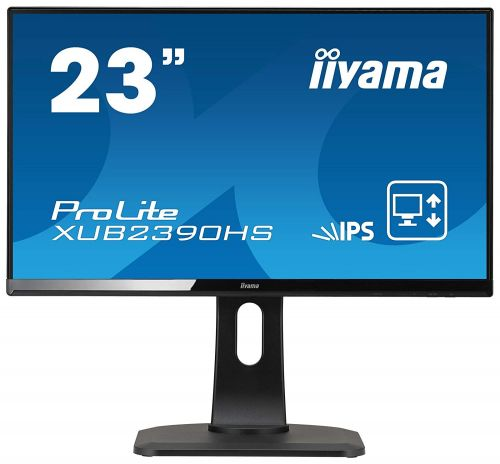 23in LED Monitor Speakers VGA DVID HDMI