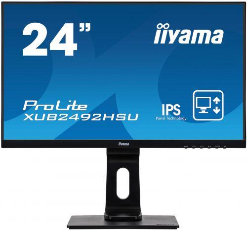 23.8in Monitor HD Speakers VGA HDMI