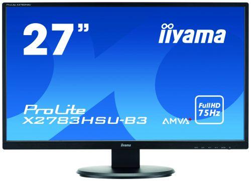 27in Monitor HD Speakers VGA DVI HDMI