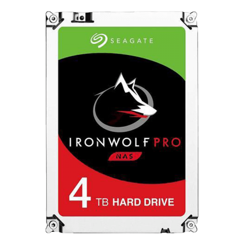 4TB Seagate IronWolf Pro SATA Int HDD