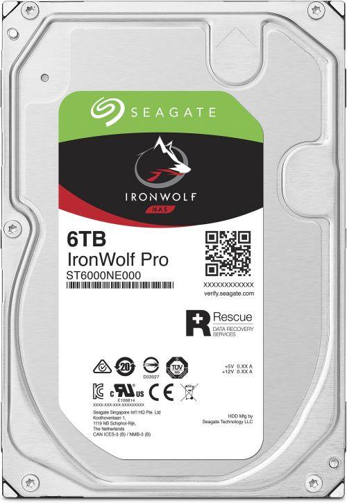 6TB Seagate IronWolf Pro SATA Int HDD