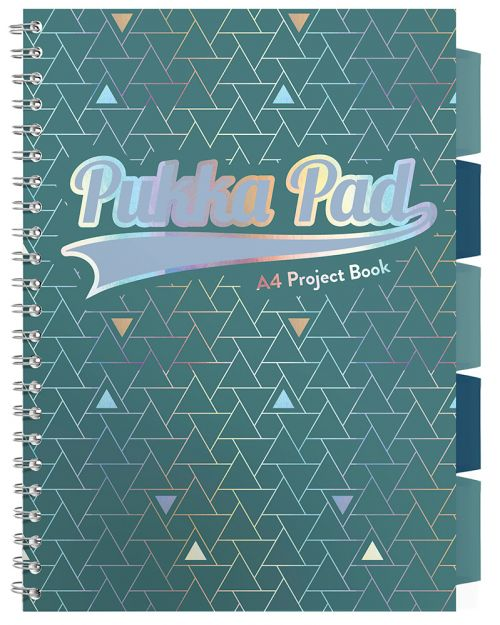 Pukka Glee Project Book A4 Green PK3