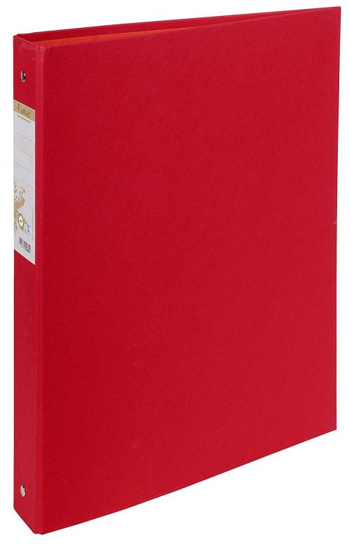 Forever 100% Recycled Ringbinder 2R 30mm Red BX10