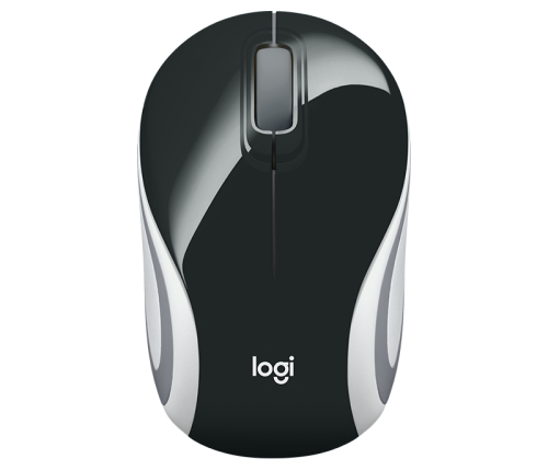 M187 1000 DPI Black Wireless Mini Mouse