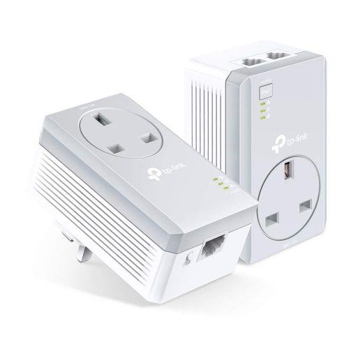 AV600 2 Port Passthrough Powerline Start