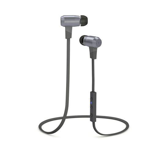 NuForce BE6 Grey Bluetooth Earphones