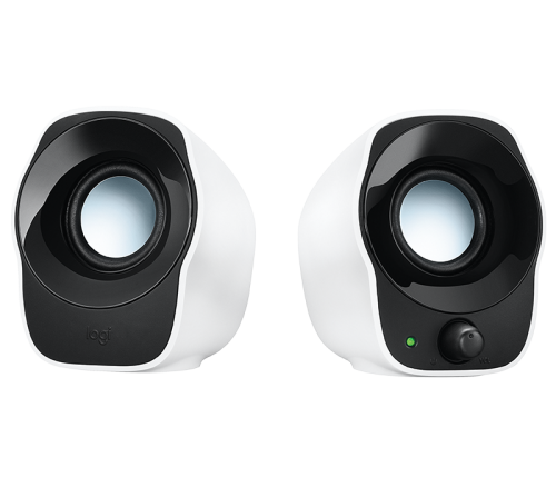 Logitech Z120 Stereo Speakers (White)