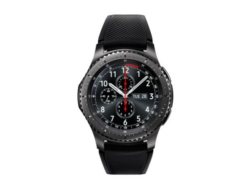 Image for Samsung Gear S3 Frontier Dark Grey