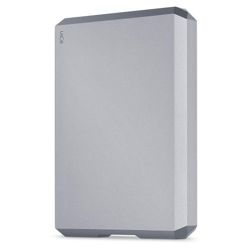 4TB LaCie USBC Space Grey Mobile Ext HDD