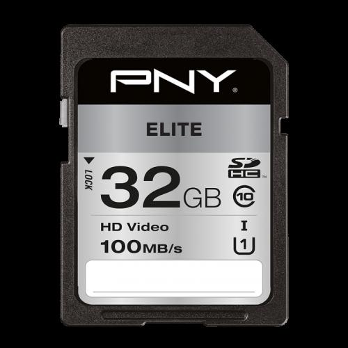 PNY 32GB High Elite CL10 UHS1 SDHC
