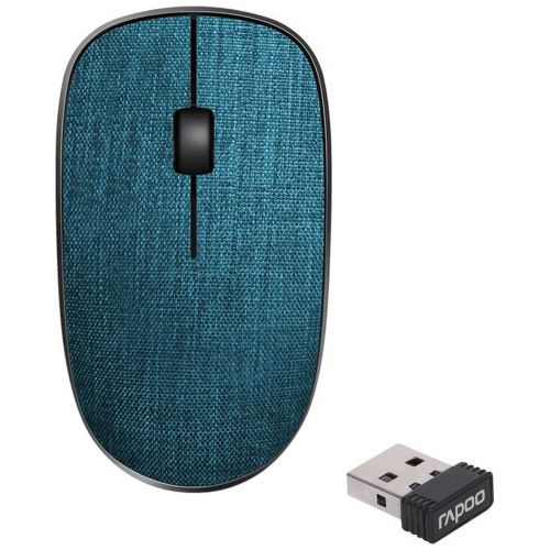 3510 Plus 1000 DPI Blue Wireless Mouse