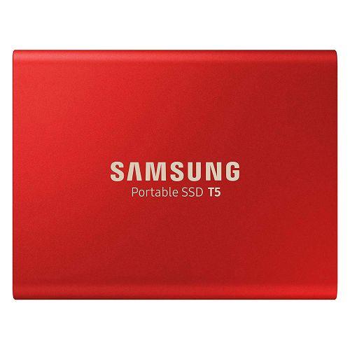 500GB T5 Red USB 3.1 Gen2 External SSD