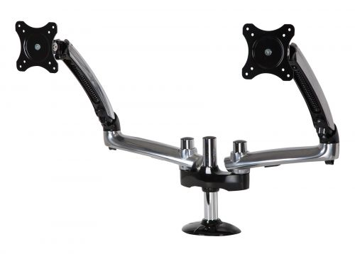 12 to 30in DualMonitor Desktop Arm Mount