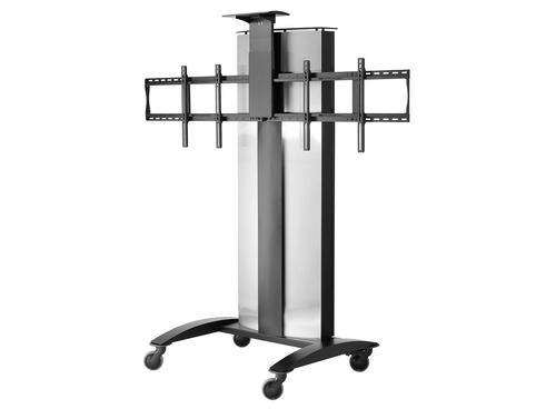 FlatPanel Cart for 2 40 to 55in Displays