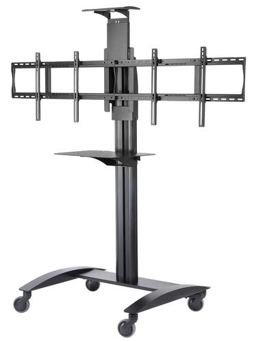 Flat Panel Cart for 2x 40in to 55in TVs