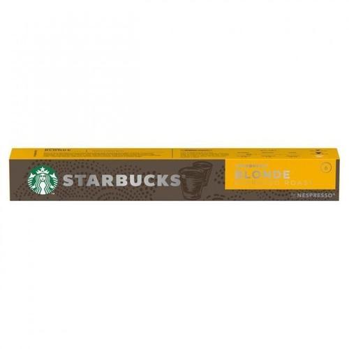 STARBUCKS by Nespresso Blonde Roast Espresso 5.7g Coffee Pods (Pack 10) 12423392
