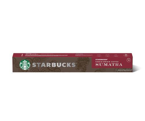 STARBUCKS by Nespresso Sumatra Espresso 5.7g Coffee Pods (Pack 10) 12423376