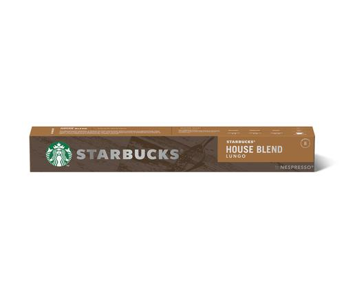 STARBUCKS by Nespresso House Blend Lungo 5.7g Coffee Pods (Pack 10) 12423278