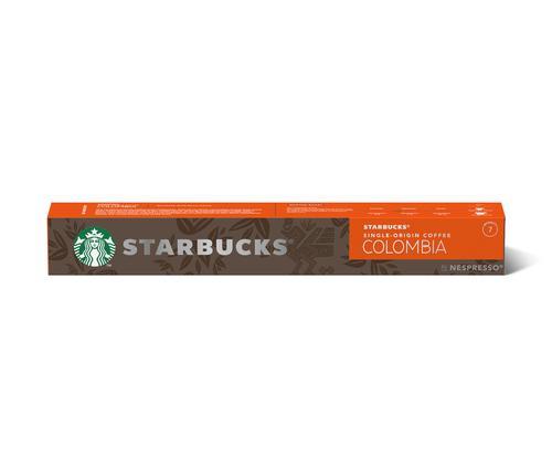 STARBUCKS by Nespresso Colombia Espresso 5.7g Coffee Pods (Pack 10) 1242359