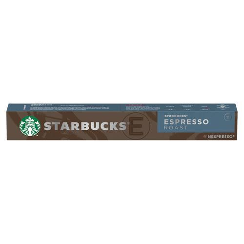 STARBUCKS by Nespresso Espresso Roast 5.7g Coffee Pods (Pack 10) 12423393