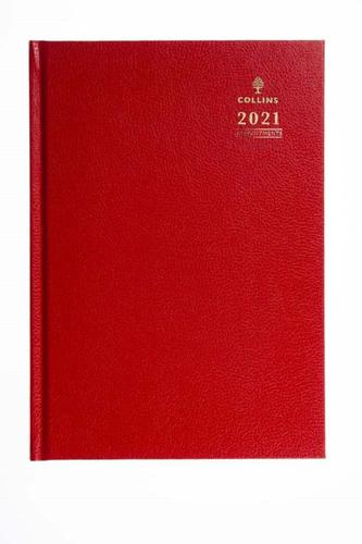 Collins 35 A5 Week to View 2021 Diary Red