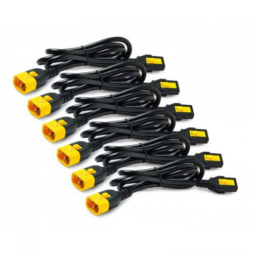 1.8m C13 to C14 Power Cable Kit Qty 6