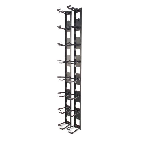 Vertical Cable Organiser 8 Rings Zero U