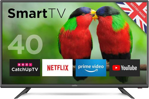 Image for Cello 40in HD Ready Smart LED TV