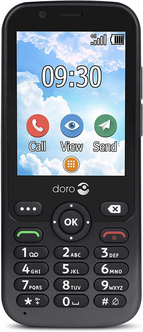 Doro 7010 White Mobile Phone