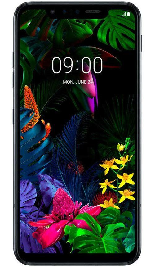 LG G8S Black Mobile Phone