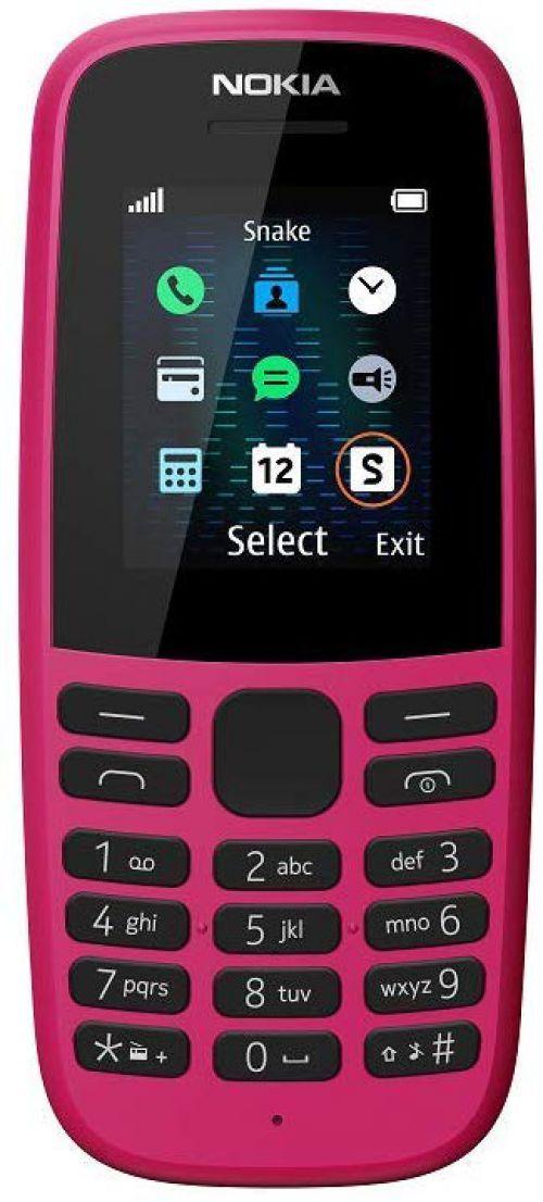 Nokia 105 Pink Mobile Phone