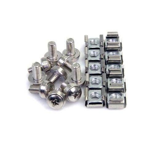 Image for 100x M6 Mounting Screws and Cage Nuts