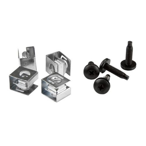 Image for 10 32 Server Rack Screws and Clip Nuts
