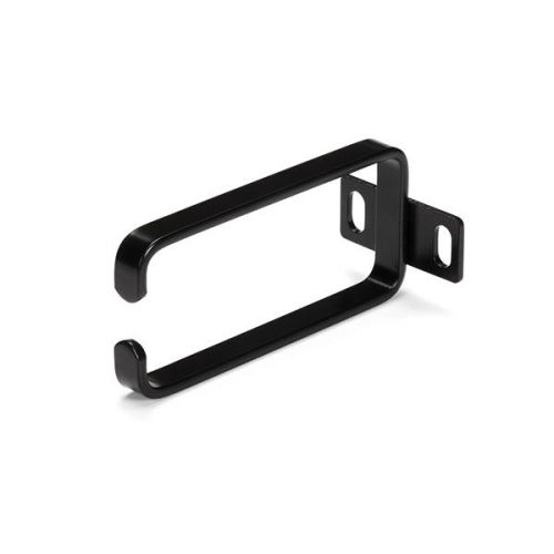 1U Vertical Rack Cable Mgmt D Ring Hook