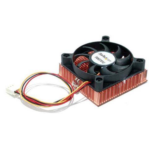 1U 60x10mm Socket 7 370 CPU Cooler Fan