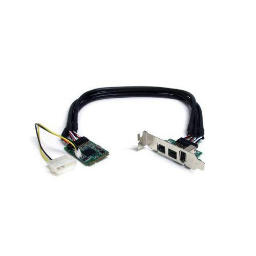 3 PT 2b 1a 1394 Mini PCIe FireWire Card