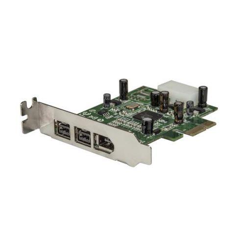 3 Port 2b 1a LP 1394 PCIe FireWire Card