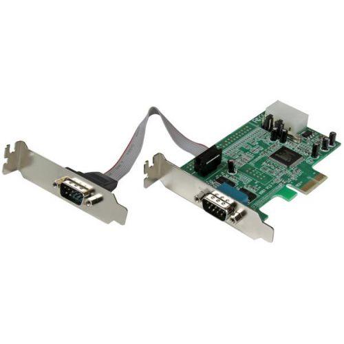 2 Port LP PCIe Serial Card 16550 UART