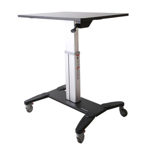 Mobile Sit Stand Workstation