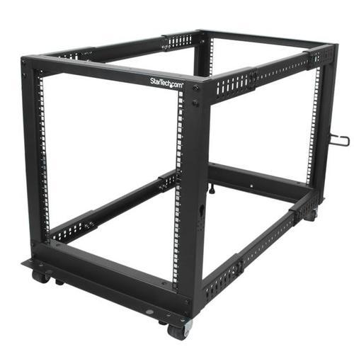 Image for 12U Open Frame 4 Post Server Rack