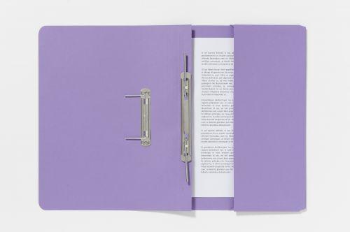 Forever Pocket Spiral File Foolscap Purple PK25