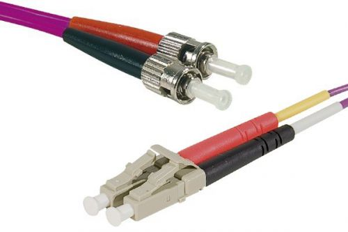 15m Fibre OM4 50 125 LSZH LCST Cable