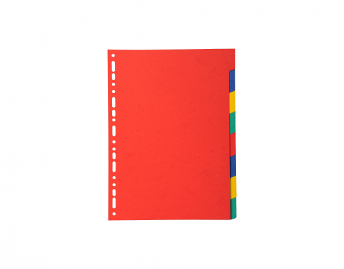 Exacompta Bright A4 Dividers 220gsm 8 part