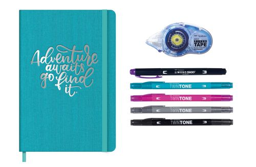 Tombow Limited Edition Travel Journal Set