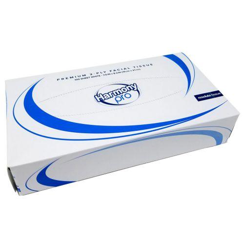 Harmony Professional 2ply White Facial Tissue 100sheets PK35