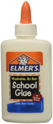 Elmers Liquid School Glue White 118ml