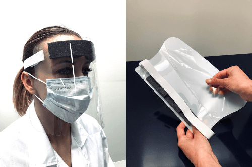 Exacompta ExaScreen Individual Protective Visor